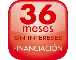 FINANCIACIÓN 36 meses sin intereses