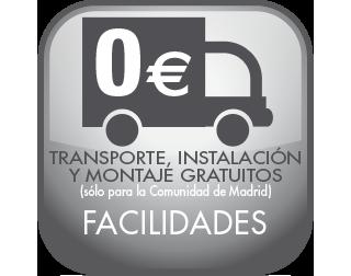 Transporte, instalacion y montaje gratuito en las tiendas de muebles en Madrid, Torrejón y Coslada